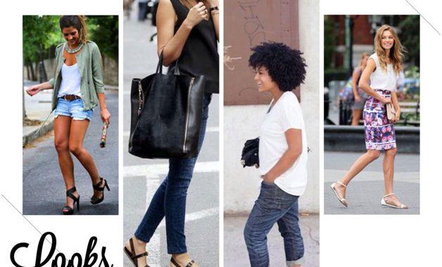a64dbc701 Lindas, leves e ideais para os dias quentes, as sandálias são  indispensáveis no dia-a-dia de qualquer mulher estilosa. Aprenda a combinar  sandálias com seu ...